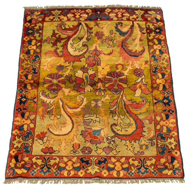 Traditional Classic Hand-Knotted Rug For Sale - Image 3 of 9