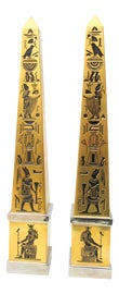 Image of Egyptian Revival Obelisks