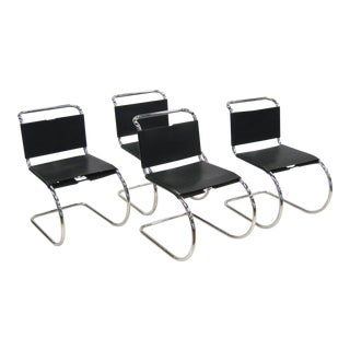 Ludwig Mies van der Rohe MR chairs by Knoll For Sale