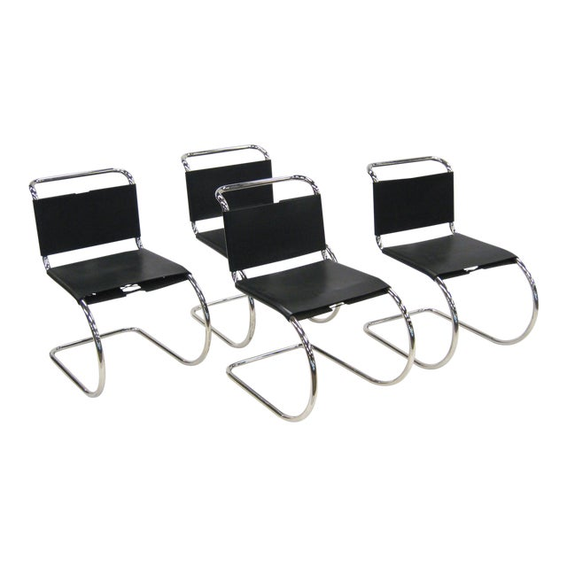 Ludwig Mies van der Rohe MR chairs by Knoll - Image 1 of 8