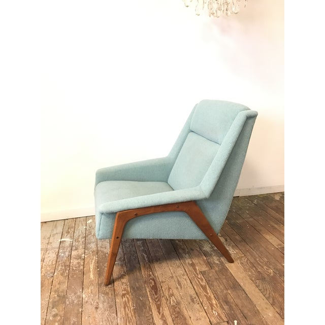 Danish Modern Mid-Century Dux Style Lounge Chair For Sale - Image 3 of 11