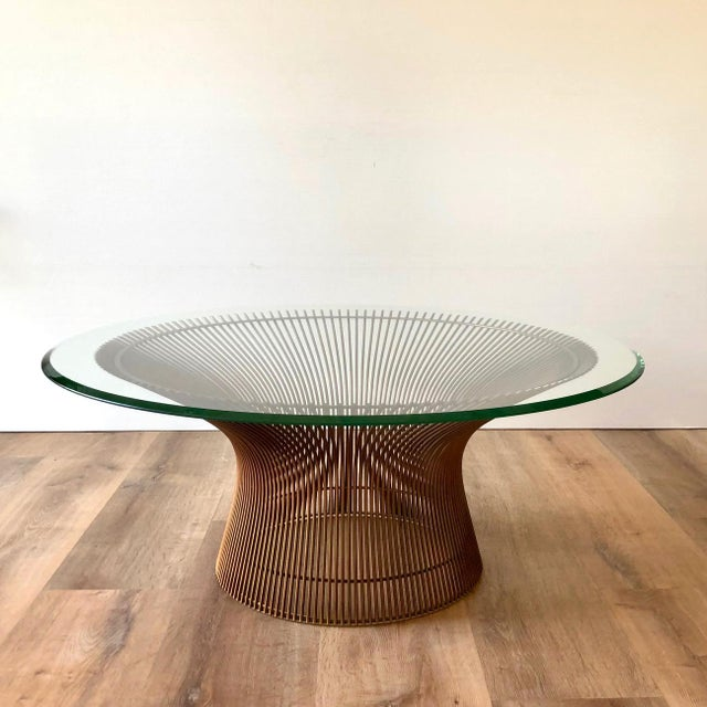 1960s Warren Platner for Knoll Coffee Table For Sale - Image 10 of 11
