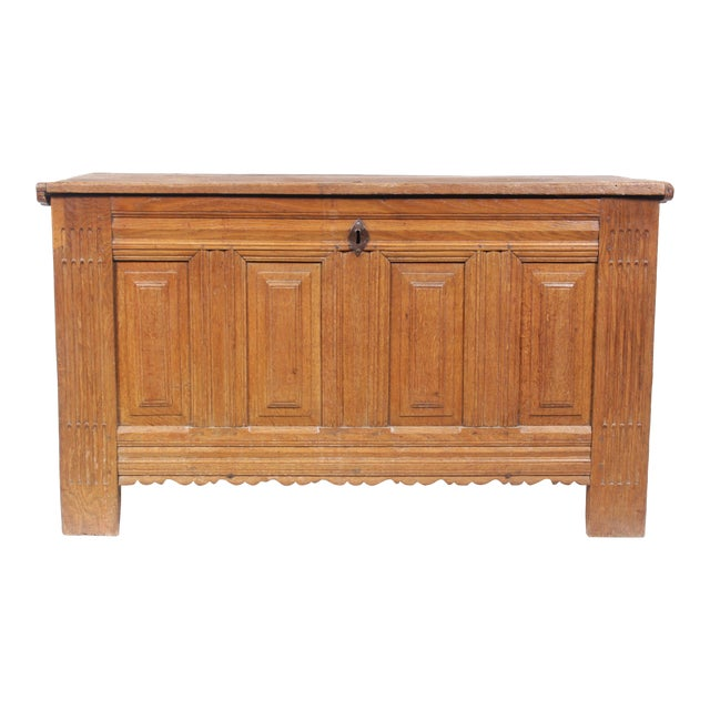 19th-C. Dowry Chest - Image 1 of 11