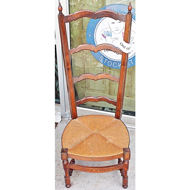 French Side Chairs - Pair For Sale In West Palm - Image 6 of 10