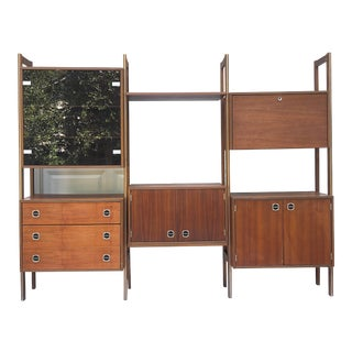 Mid-Century Modular Wall Unit For Sale
