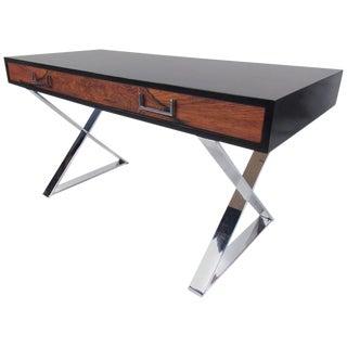 Milo Baughman Campaign Desk for John Stuart For Sale