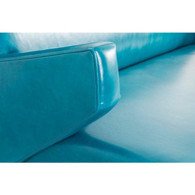 Animal Skin Jens Risom Model 37 Sofa For Sale - Image 7 of 10