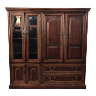 Hooker Furniture Entertainment Cabinet For Sale