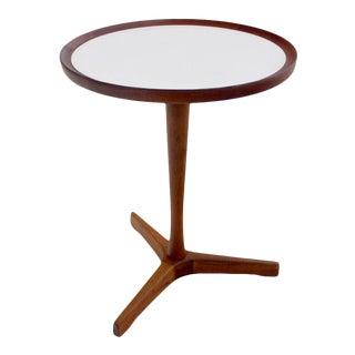 Scandinavian Modern Side Table Designed by Hans Andersen For Sale
