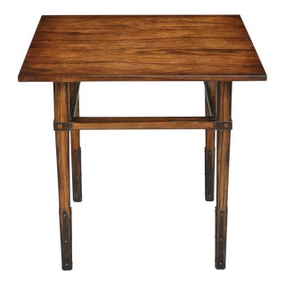 Taper Square Side Table For Sale