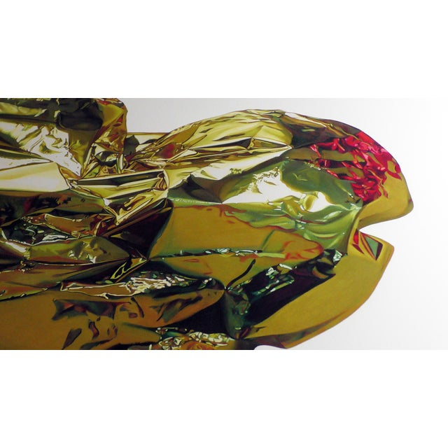 """""""Heart of Gold"""" Drawing Large Limited Edition Print by Jack Verhaeg For Sale - Image 4 of 5"""