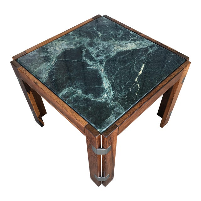Verde Green Marble Top Side Table - Image 1 of 10