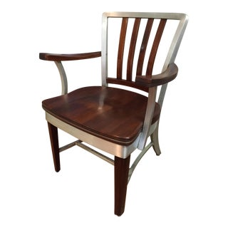 Shaw Walker Danish Maple Chair For Sale