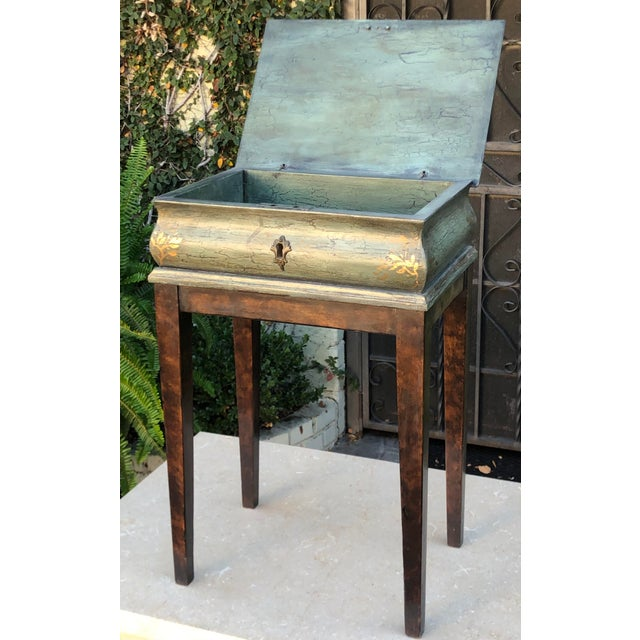 Minton Spidell Box Form Side or End Table For Sale In Los Angeles - Image 6 of 8