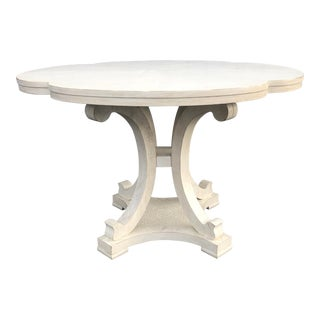 Shabby Chic Stanley Furniture Seascape Dining Table For Sale