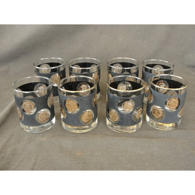 Libbey Coin Highball Glasses - Set of 8 - Image 8 of 10