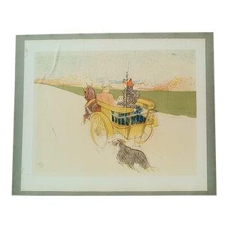 Partie De Campagne Lithograph Print by Toulouse-Lautrec For Sale