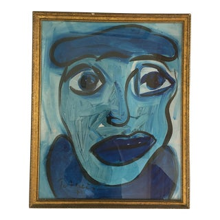 """""""Pablo Picasso"""" Painting by Peter Keil For Sale"""