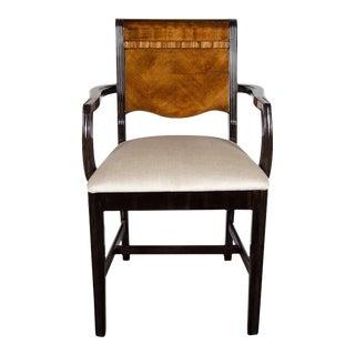 Machine Age Art Deco Streamlined Design Arm Desk Chair