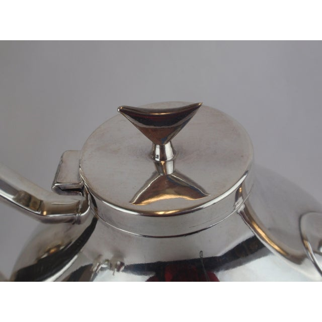 John Prip for Reed & Barton Denmark Modernist Coffee Tea Set - Image 7 of 10