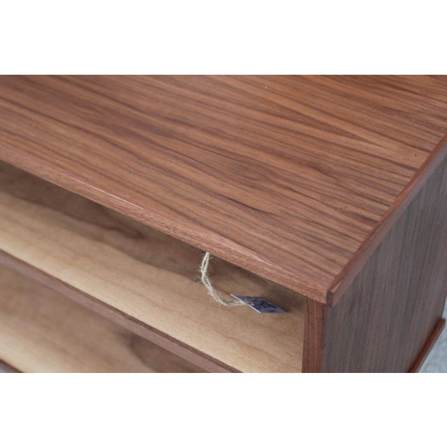 Mid-Century Style Walnut Credenza For Sale - Image 10 of 11