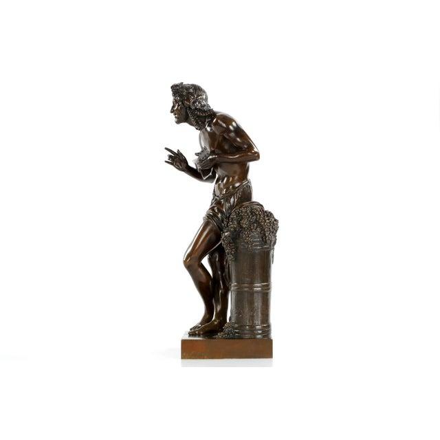 "François-Joseph Duret ""Improvisateur"" Bronze Sculpture - Image 3 of 10"