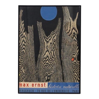 Max Ernst Histoire Naturelle Poster For Sale