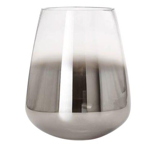 Kenneth Ludwig Smoke Mirror Cone Vase For Sale