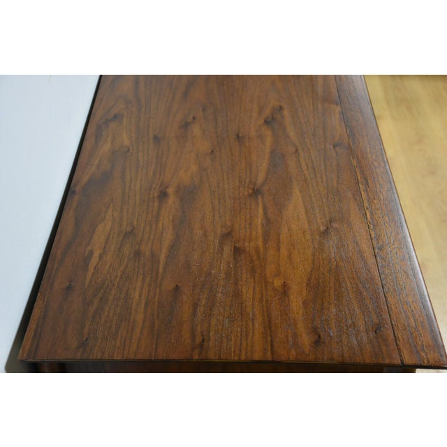 Forward Furniture by Unagusta Walnut Dresser For Sale - Image 7 of 11