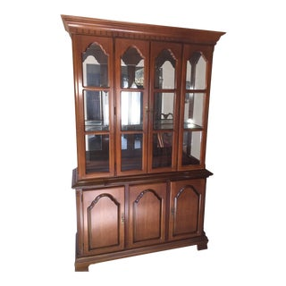 Vintage Queen Anne Cherry Hutch