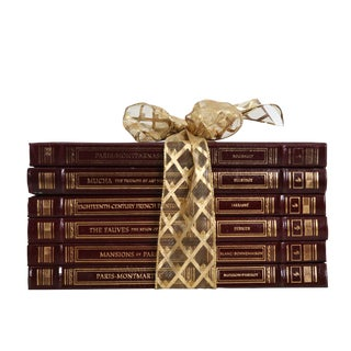 Easton Press French Art & History Gift Set, S/6 For Sale