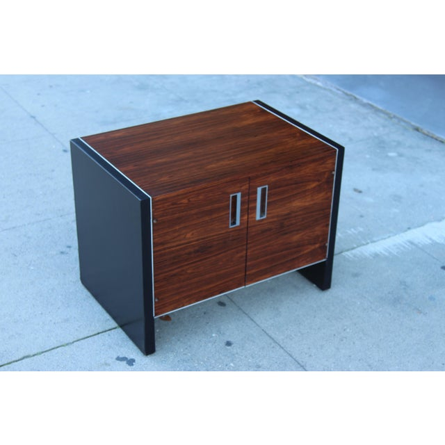 Robert Baron Glenn of California Rosewood Nightstand - Image 2 of 9