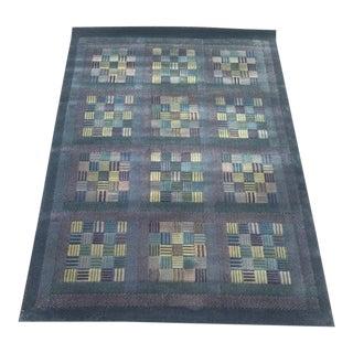 Late 20th Century Vintage Missoni Wool Rug For Sale