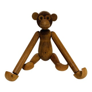 Kay Bojensen Era Danish Modern Style Teak Monkey For Sale