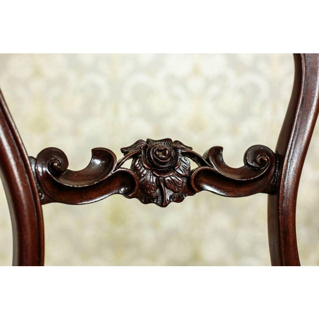 French 19th Century Louis Philippe Mahogany Chairs Circa 1880 - Set of 4 For Sale - Image 3 of 8