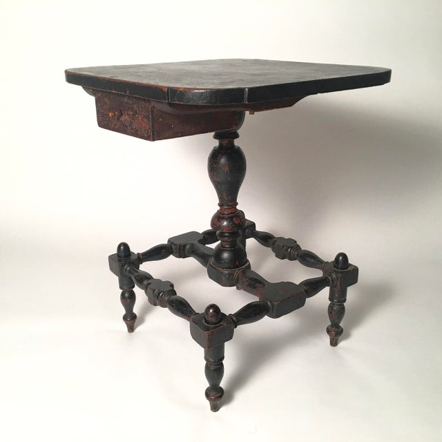 Early American Country Side Table, circa 1820-1830 - Image 2 of 9