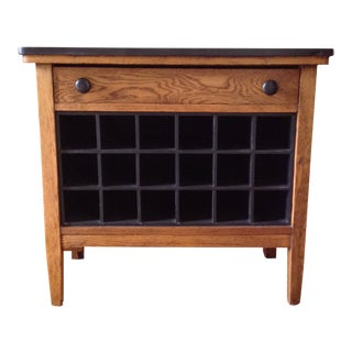 1920s Rustic Dry Bar/Wine Cabinet For Sale