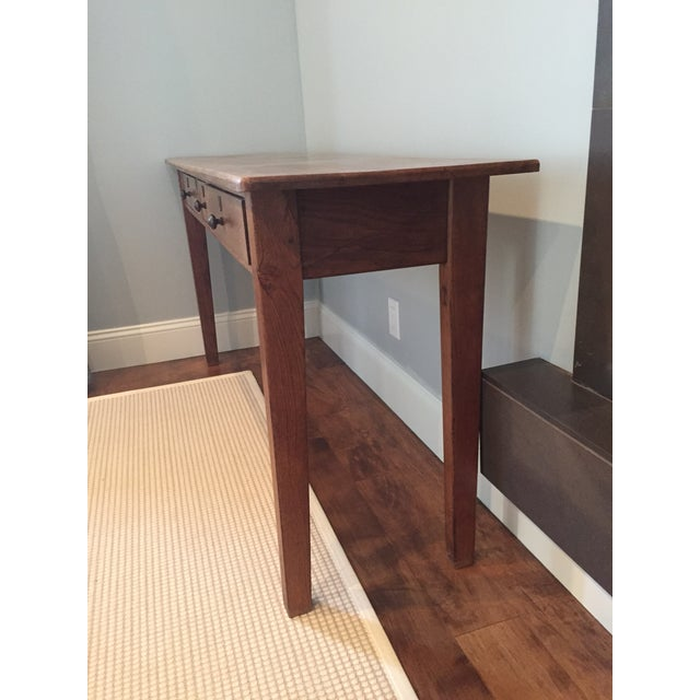 Antique Three-Drawer Console Table - Image 7 of 11