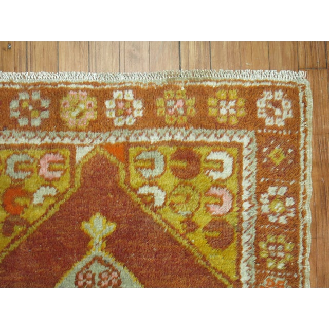 Boho Chic Vintage Turkish Rug, 2'6'' x 4'2'' For Sale - Image 3 of 5