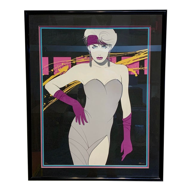 1980s Luis Preciado Figurative Signed and Numbered Limited Edition Serigraph, Framed For Sale