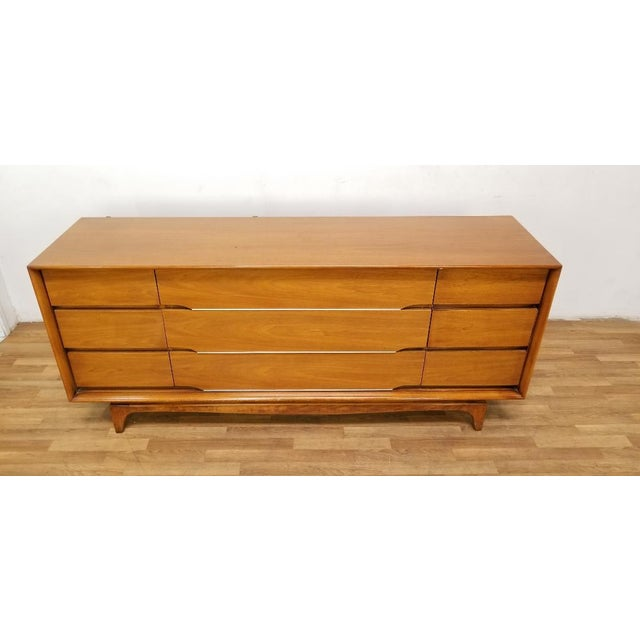 Kent Coffey 1960s Scandinavian Modern Kent Coffey Forum Credenza Buffet Dresser For Sale - Image 4 of 13