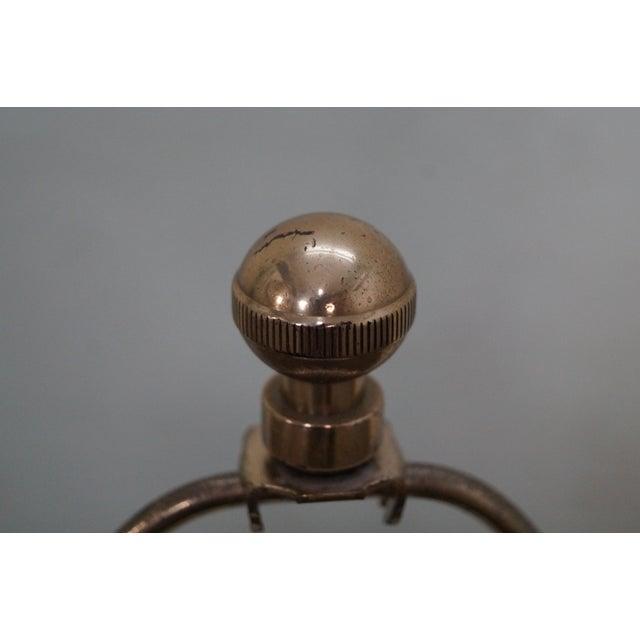 Frederick Cooper Floral Pottery Ginger Jar Urn Table Lamp For Sale In Philadelphia - Image 6 of 10