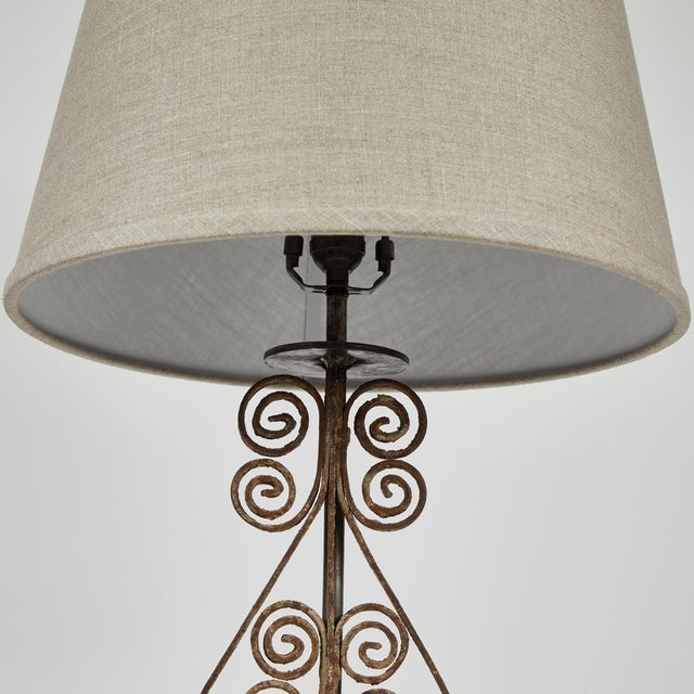 19th Century Victorian Iron Lamps For Sale - Image 4 of 9