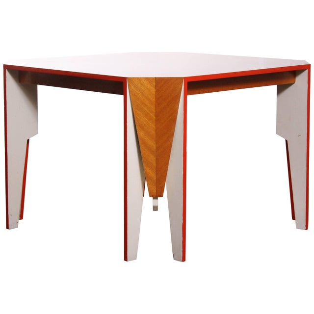 Modern Architectural Dining Table - Image 8 of 8
