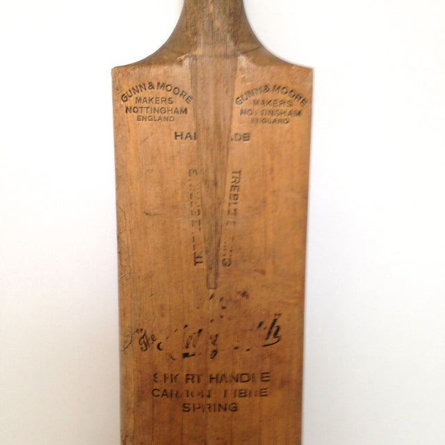 Gunn and Moore Cricket Bat Paddle For Sale - Image 4 of 5