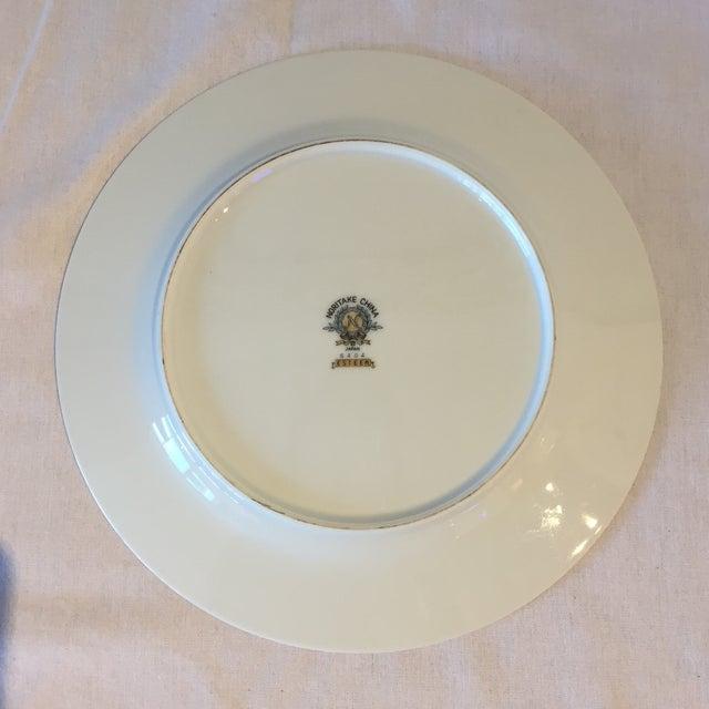 Noritake Esteem Gold Rimmed Plates - Set of 4 - Image 3 of 5