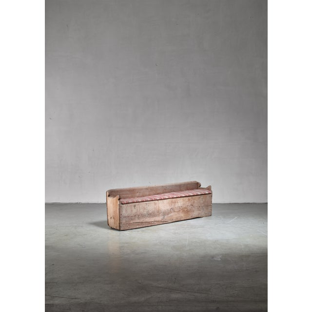 Late 19th Century 19th Century Pine Storage Bench, Sweden For Sale - Image 5 of 5