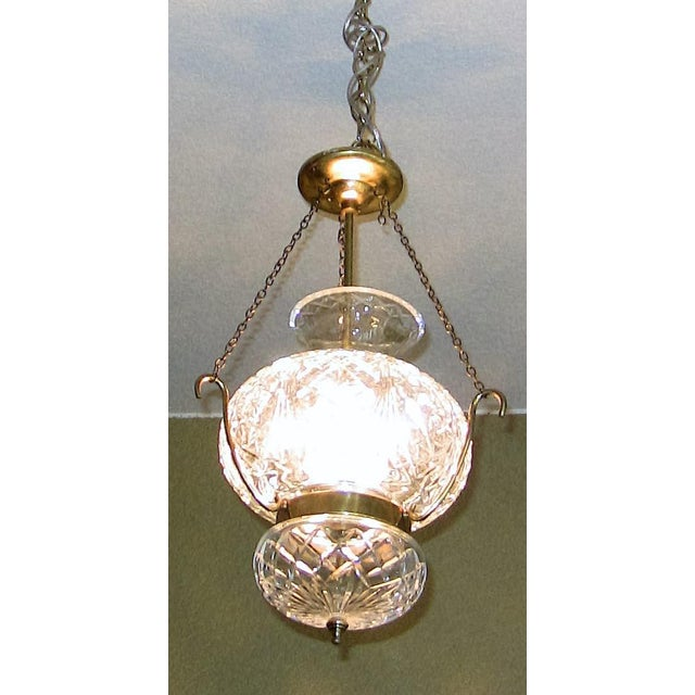 Mid-Century Modern Mid Century Irish Waterford Crystal Traditional Style Chandelier For Sale - Image 3 of 6