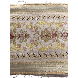 Antique Silk Trim For Sale