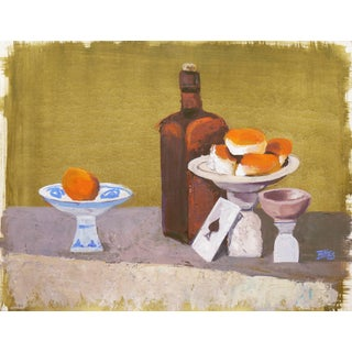 Beverly Hackett, 'Still Life With the Ace of Spades', Post-Impressionist Still Life, 1963 For Sale